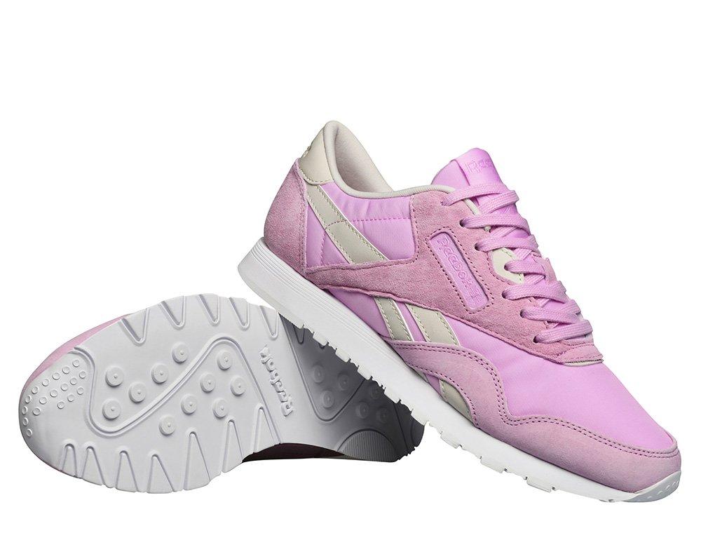 reebok x face stockholm classic nylon pink