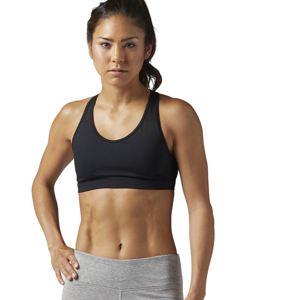 reebok workout ready sports bra black