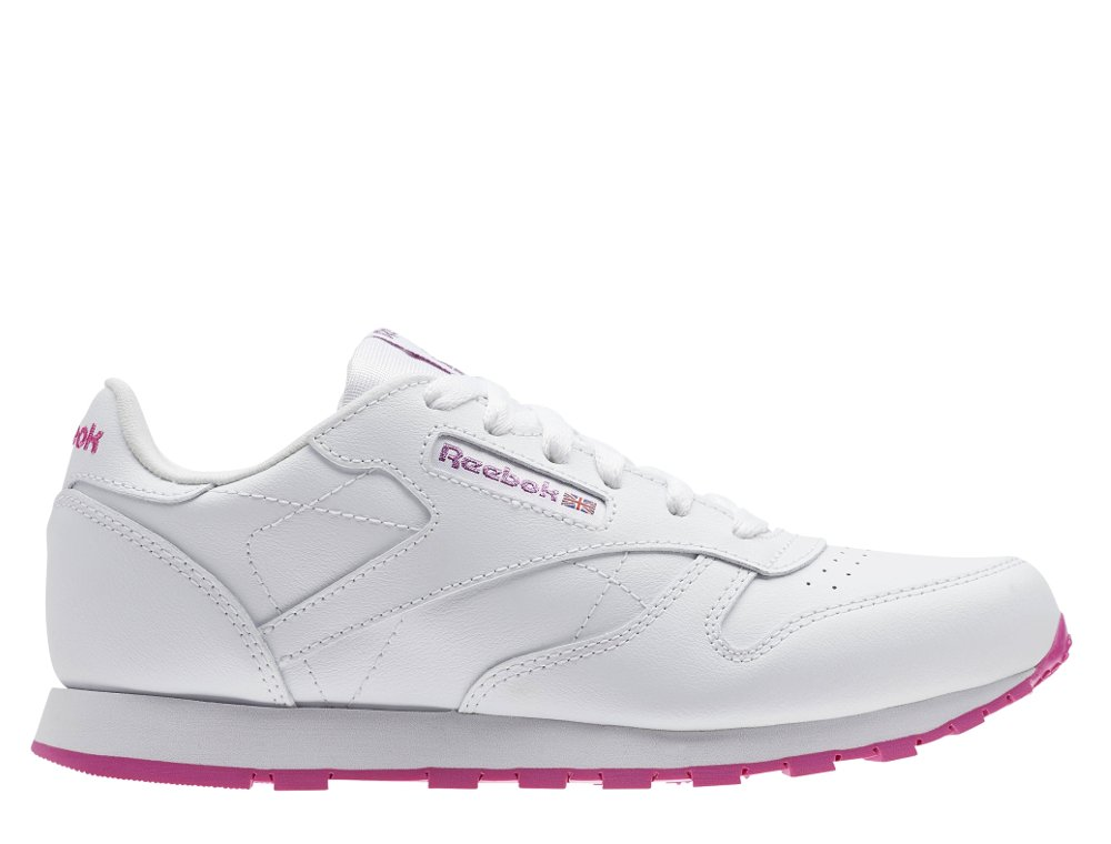 reebok classic leather lurex white