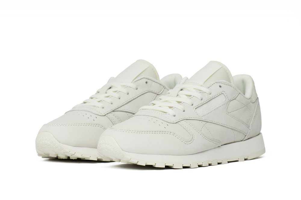 """buty reebok classic leather fbt suede """"white"""""""