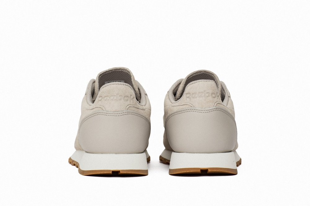 "buty reebok classic leather sg ""sand stone"""