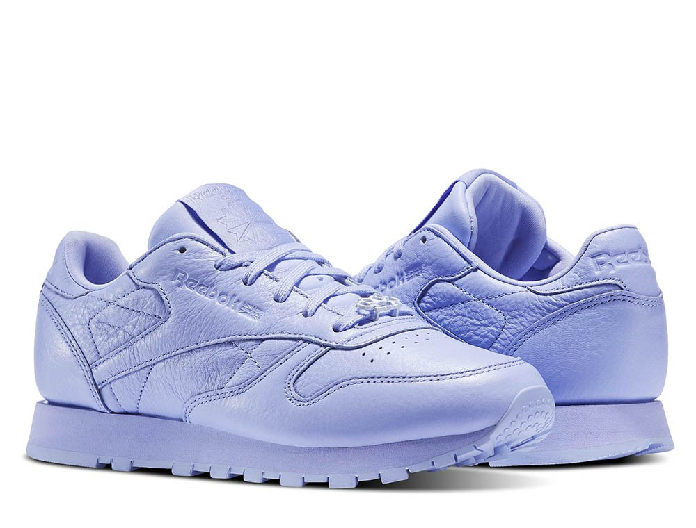 "buty reebok classic leather ""lilac glow"" (bs7913)"