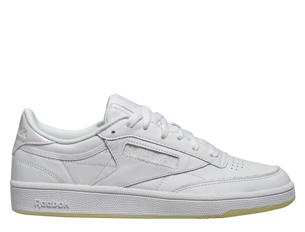 "reebok club c 85 leather ""pearl white"" (bs5163)"