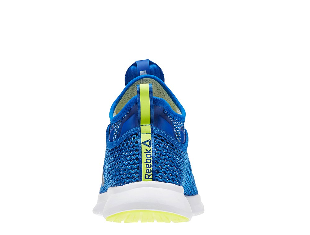 buty reebok pump plus vo blue/solar yellow/bl
