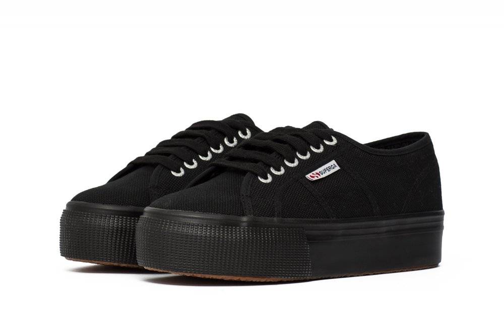 "buty superga 2790 up and down ""total black"""