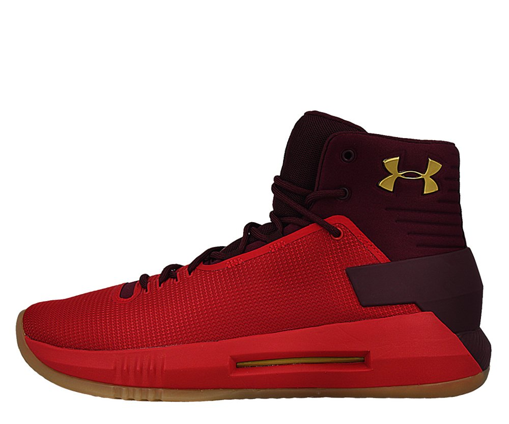 "under armour drive 4 ""red/metallic gold"" (1298309-600)"