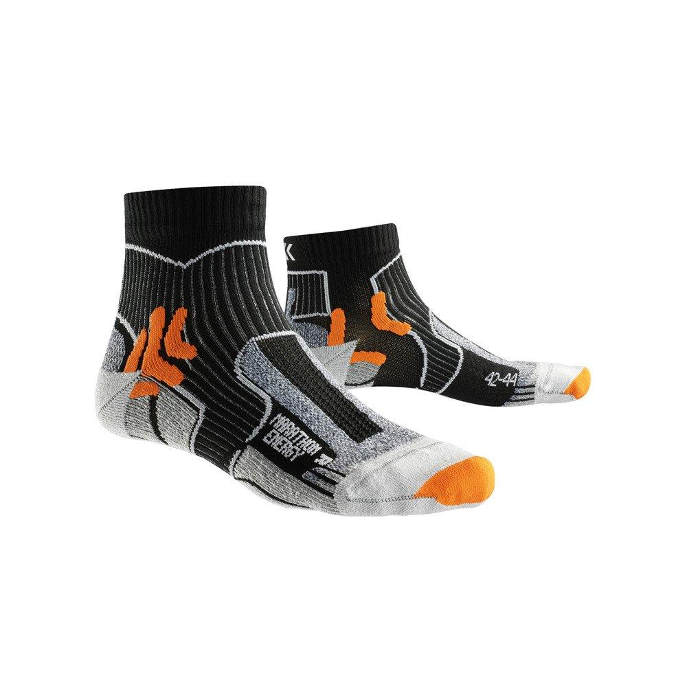 x-socks marathon energy czarno-szare