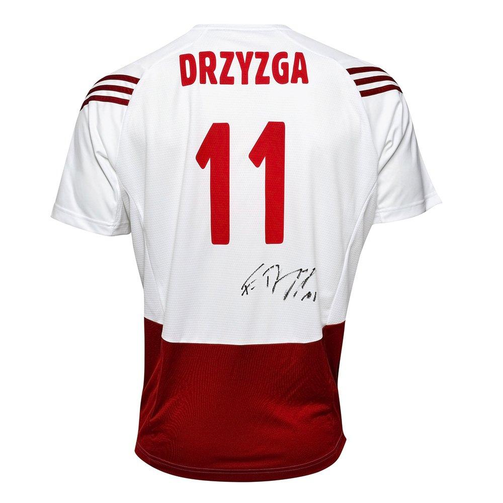 koszulka adidas reprezentacji polski z autografem fabiana drzyzgi
