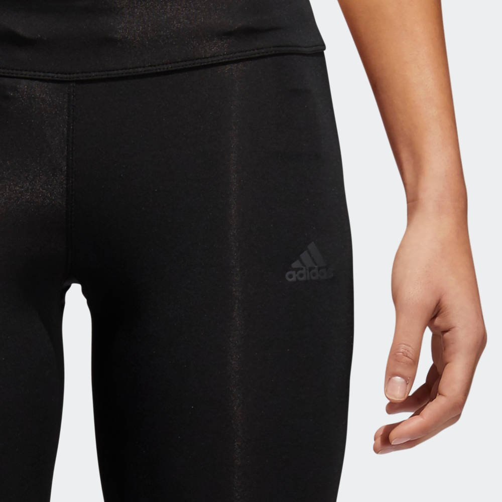 adidas response 3/4 tights w czarne
