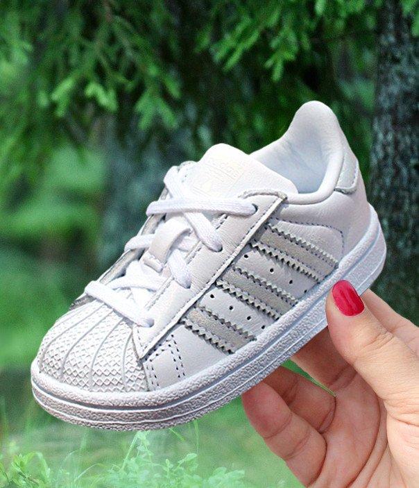 kupić najlepsze oferty na duża zniżka adidas Superstar I białe