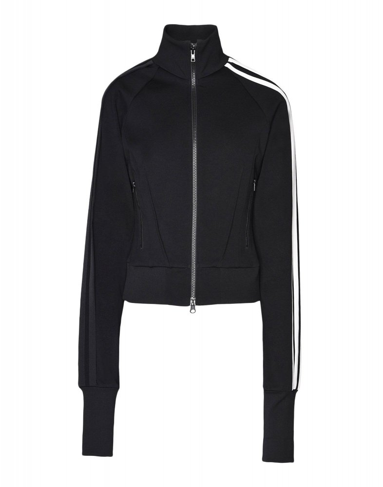 adidas y-3 3 stripes selvedge matte track jacket (dp0780)