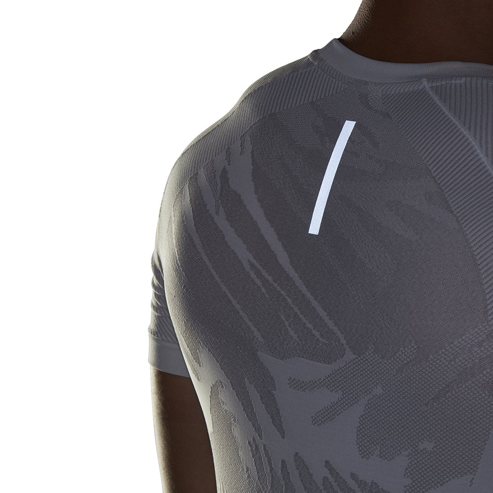 adidas performance ultra primeknit parley tee m szaro-biała