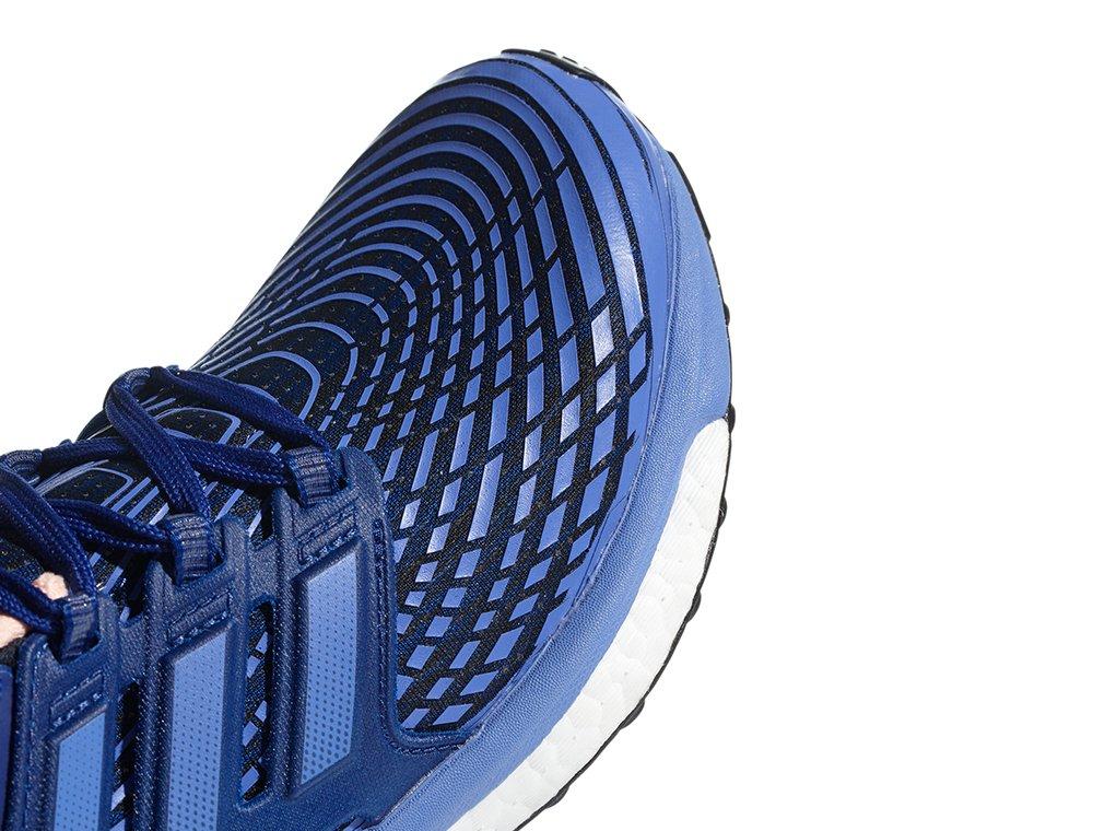 adidas energy boost w czarno-niebieskie