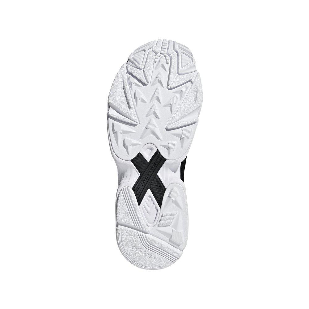adidas falcon w damskie czarne (b28129)