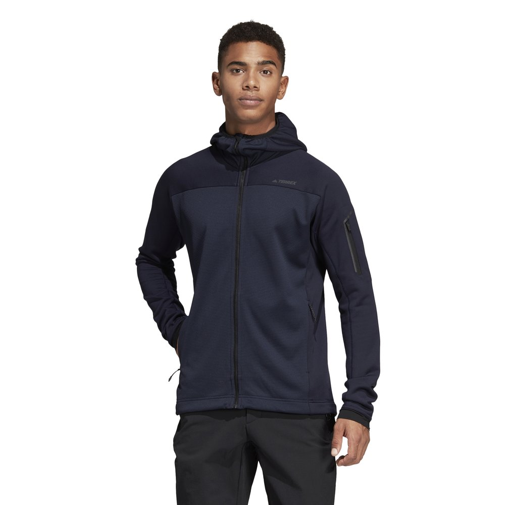 Adidas Terrex Stockhorn Hooded Fleece Jacket