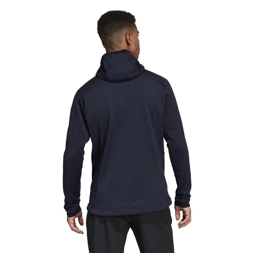adidas Terrex Stockhorn Hooded Fleece Jacket Męska Granatowa