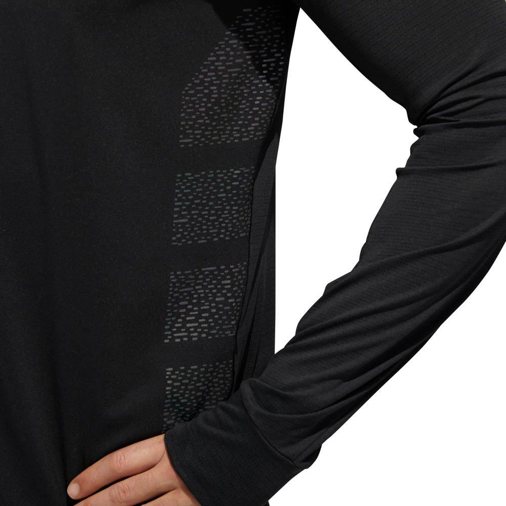 adidas supernova long sleeve dark knight tee m czarna