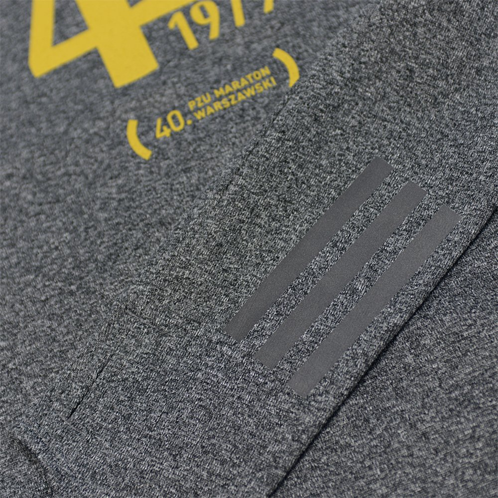 dedykowana bluza 40. pzu maratonu warszawskiego szara