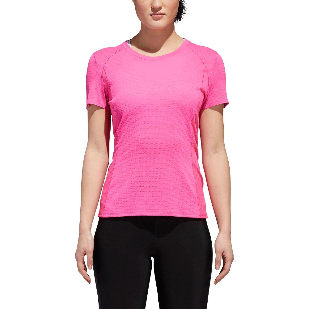 adidas supernova short sleeve tee w różowa