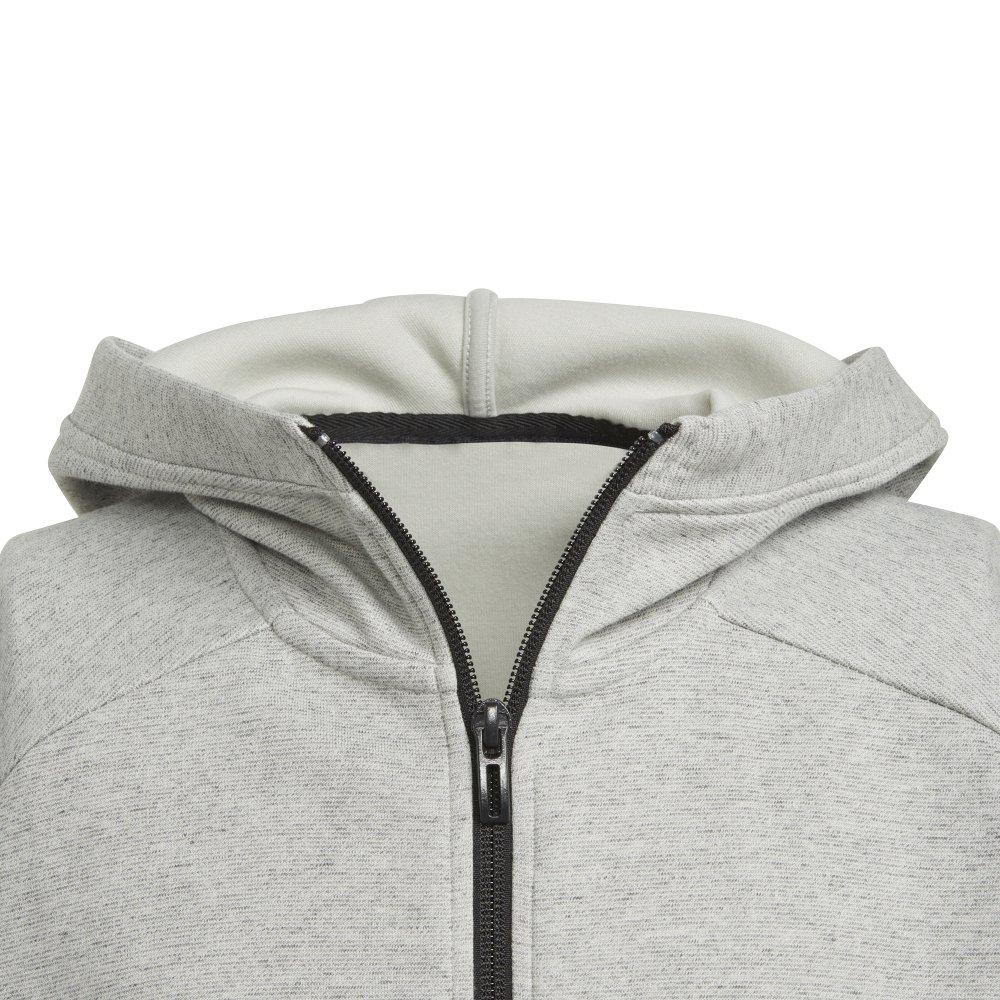adidas id stadium hoodie junior szara