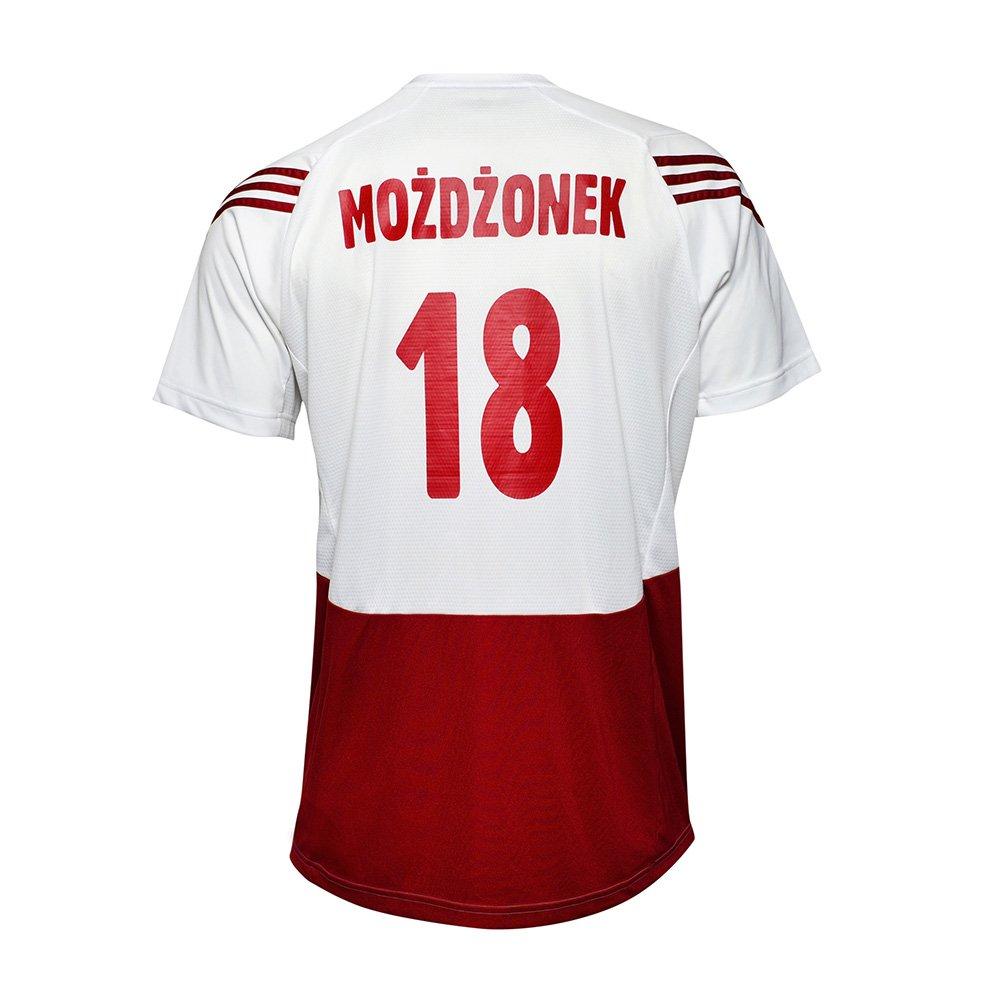 koszulka adidas reprezentacji polski z autografem marcina możdżonka