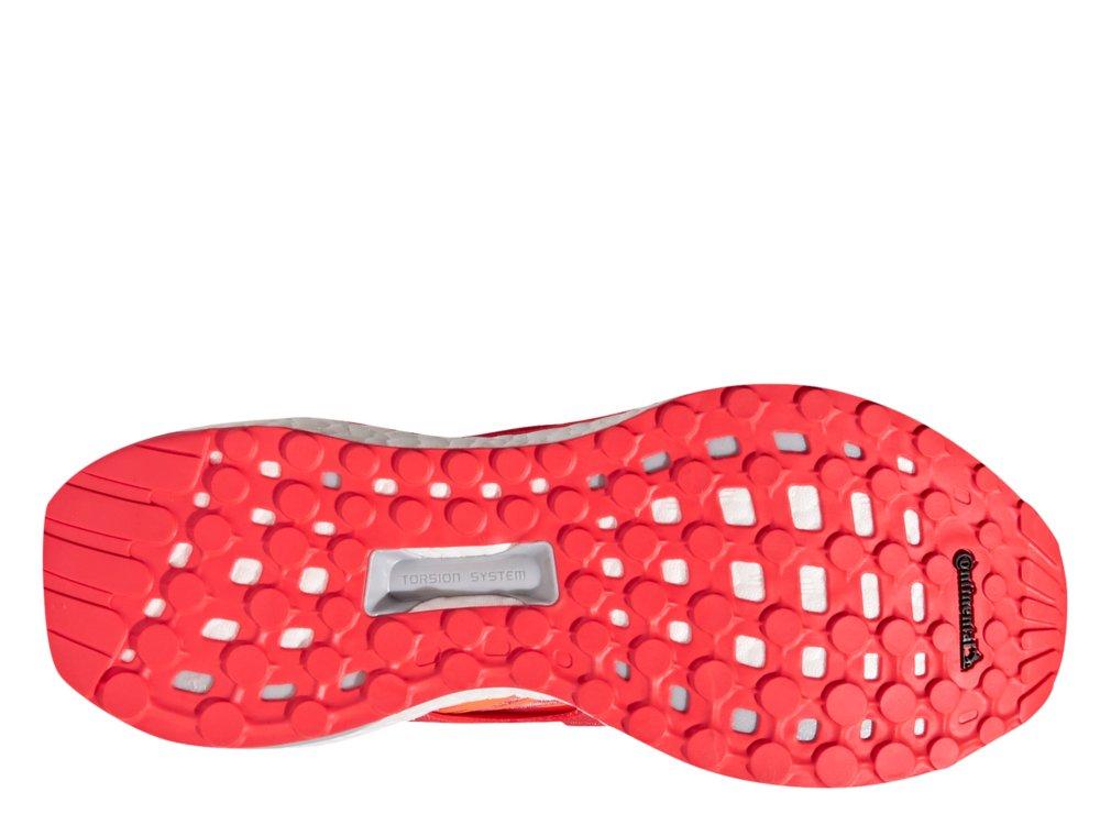buty adidas energy boost w koralowo-pomarańczowe