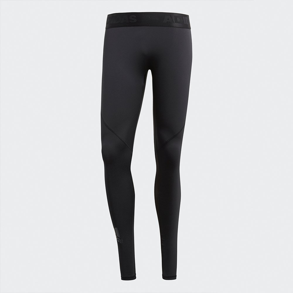 adidas alphaskin long tight black