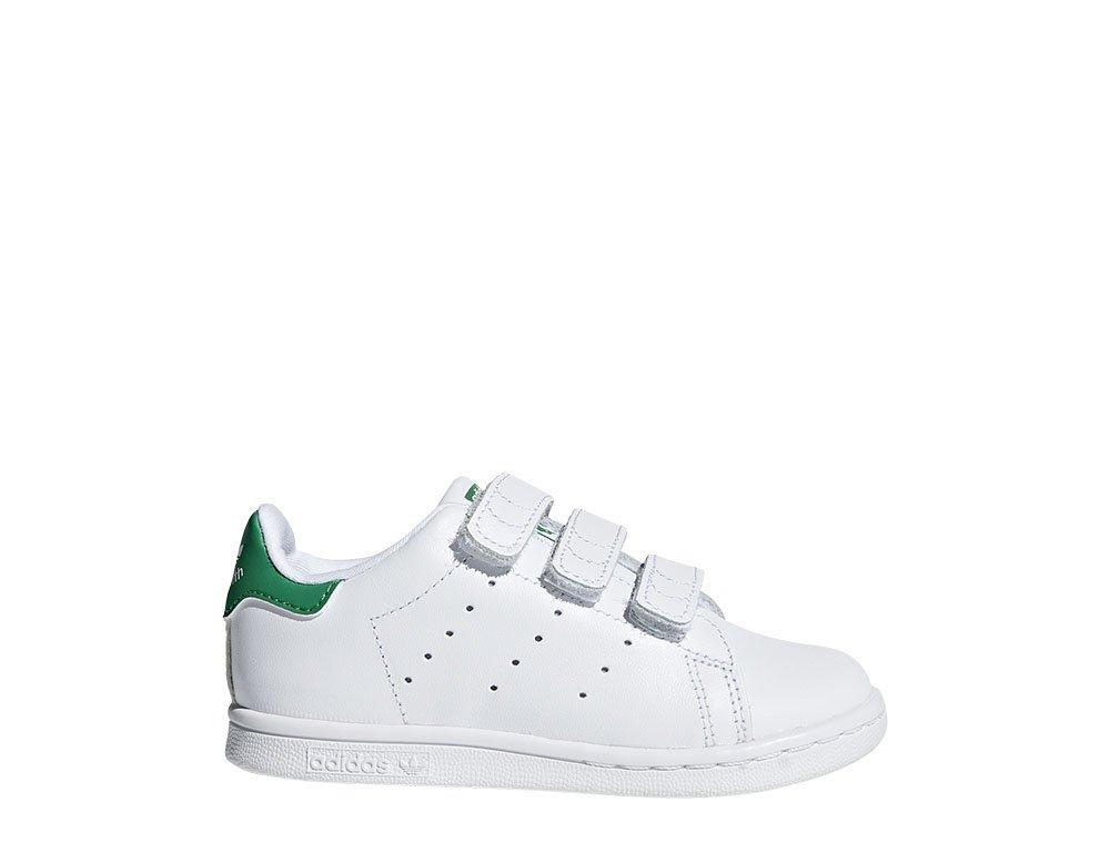 adidas stan smith cf i biało-zielone