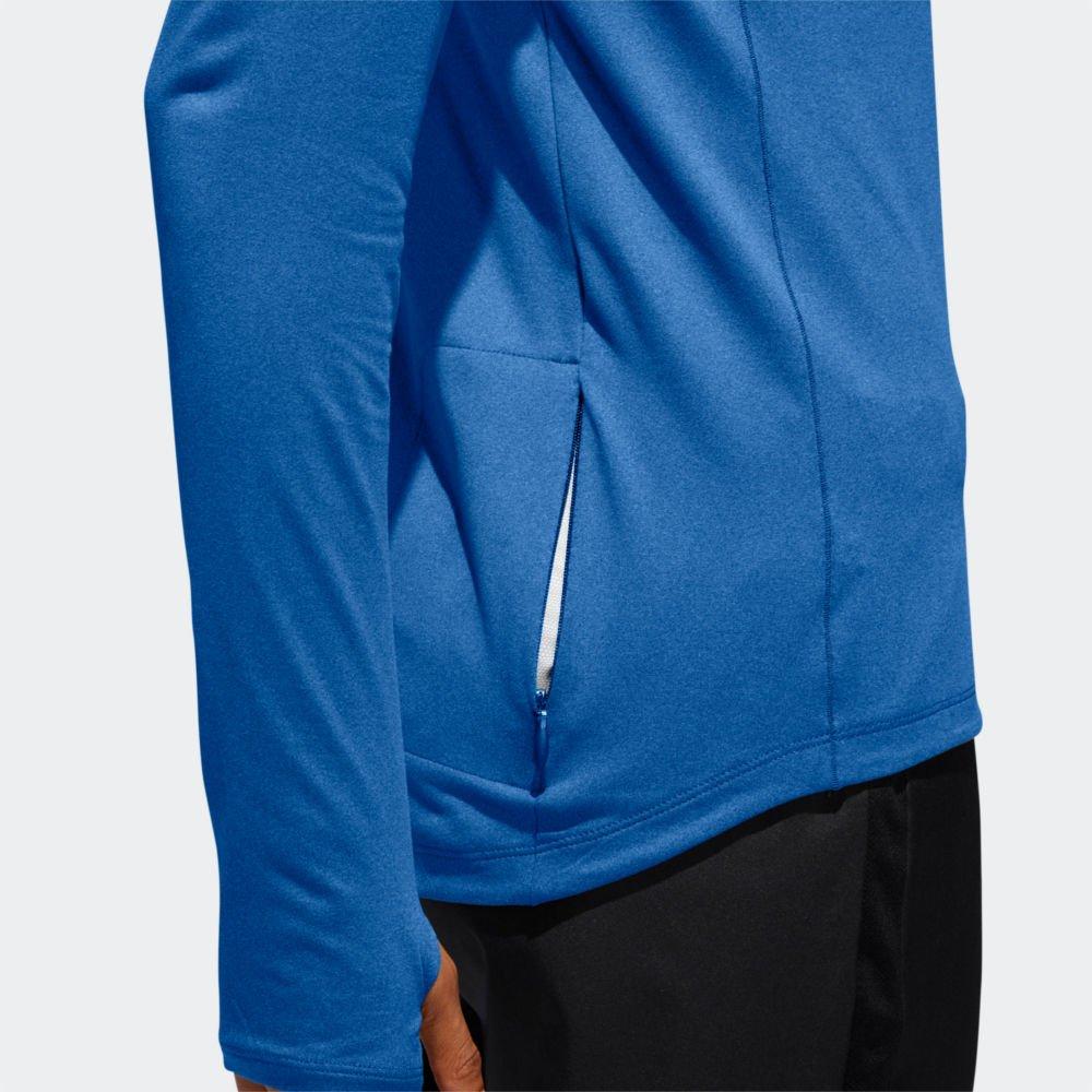 adidas supernova sweatshirt 1/2 zip w niebieska