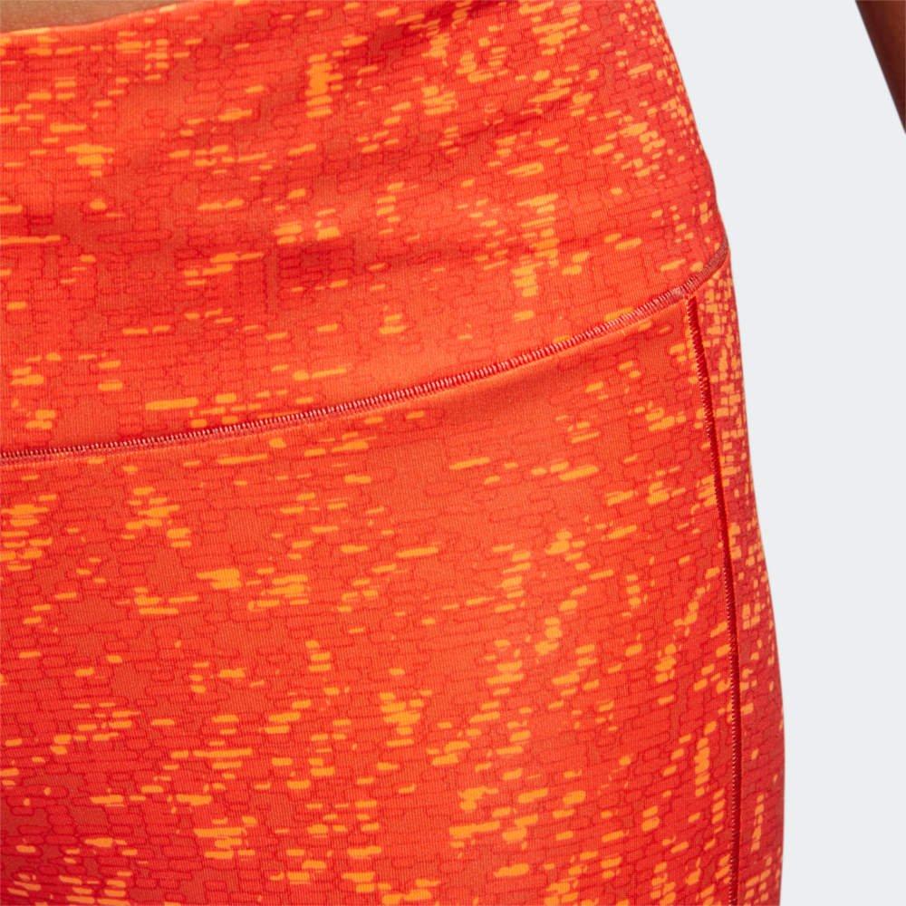 adidas how we do tight w pomarańczowe