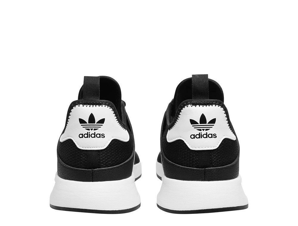 buty meskie adidas x plr czarno białe na nodze