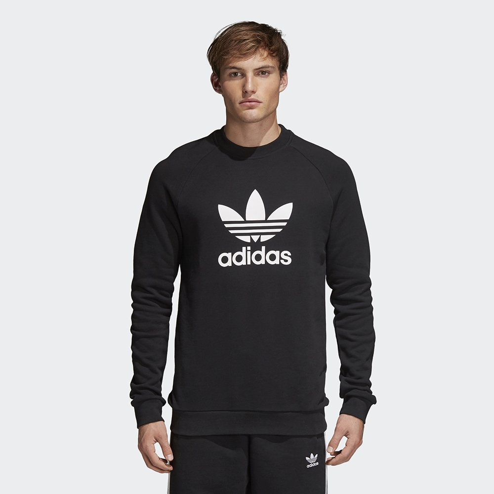 adidas Originals Trefoil Crewneck Black