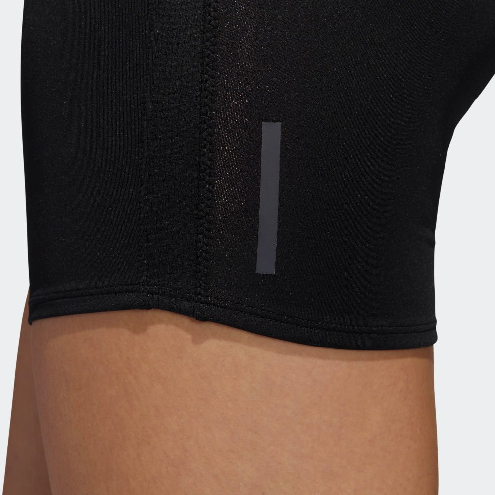 adidas response short tights black w czarne