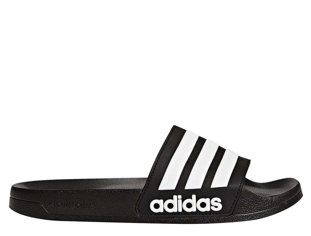 adidas adilette shower czarno-białe