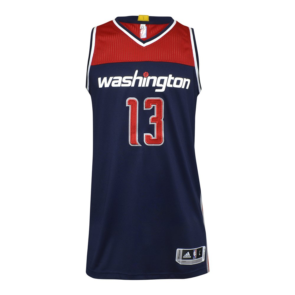 koszulka adidas authentic washington wizards z autografem marcina gortata (b0022)