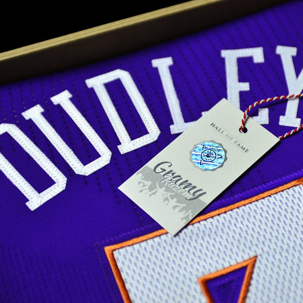 koszulka adidas authentic phoenix suns z autografem jareda dudleya (b0024)