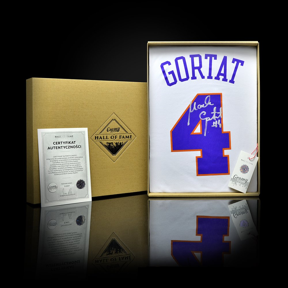 koszulka adidas replica phoenix suns z autografem marcina gortata (b0027)