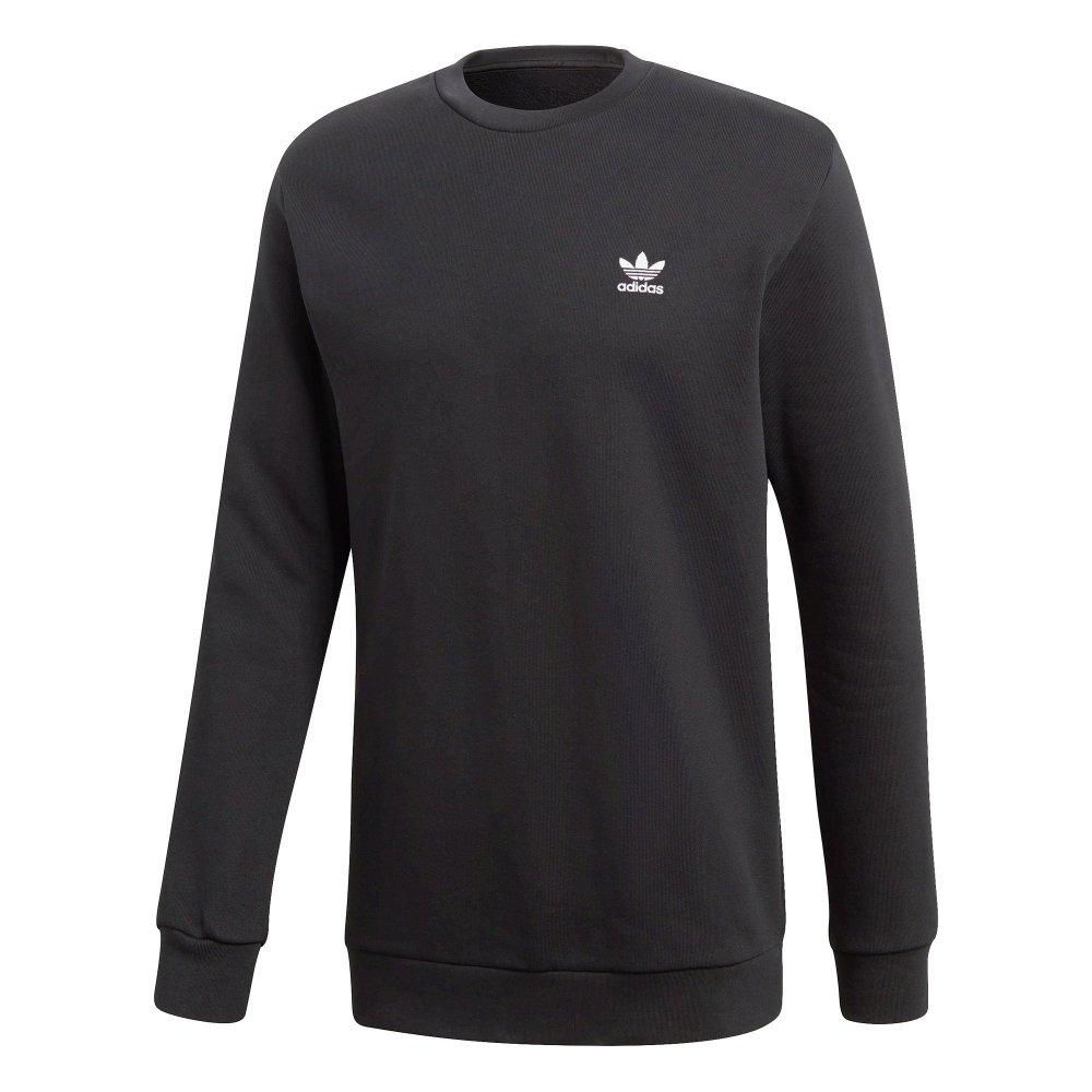 adidas Originals ESSENTIAL TREFOIL PULLOVER Bluza black