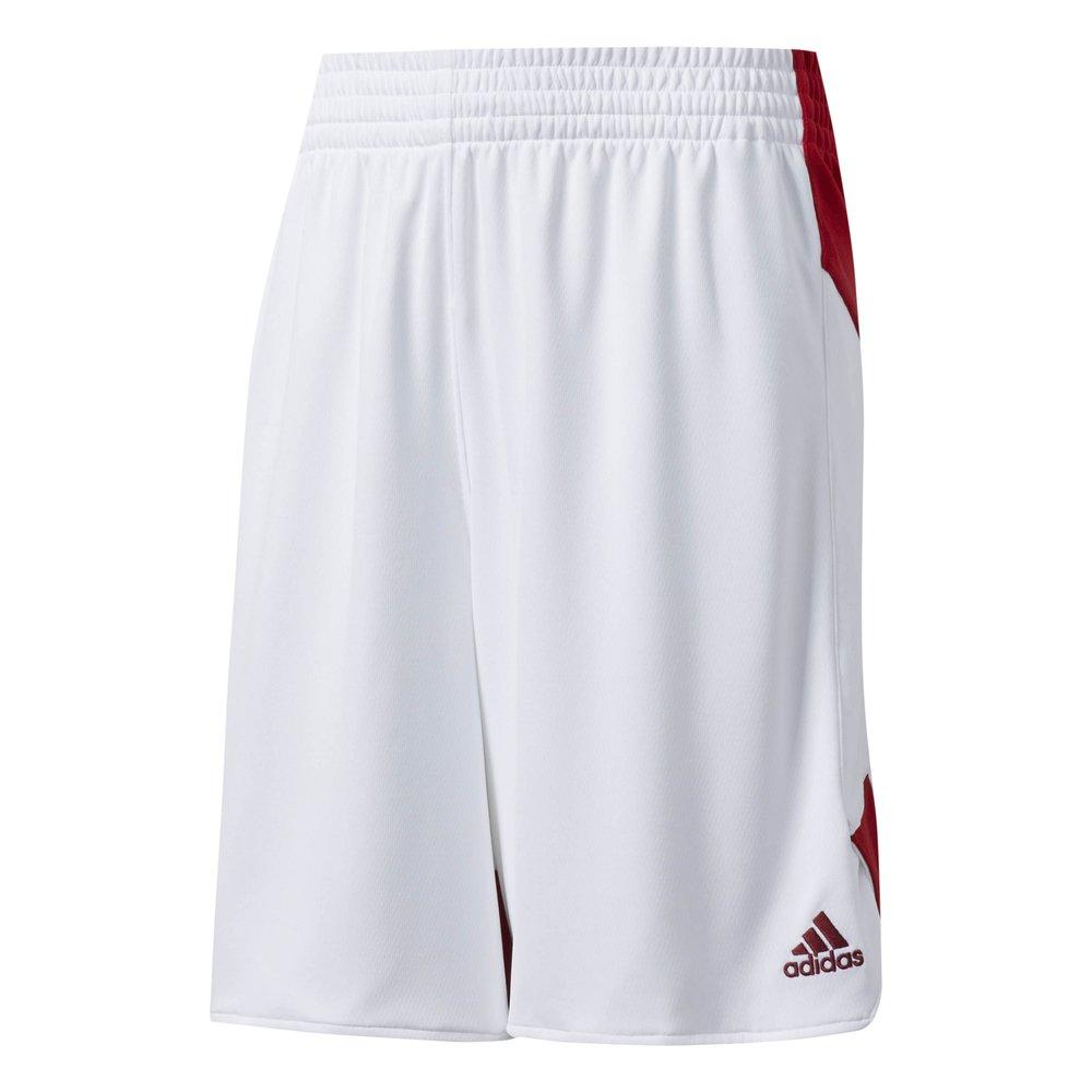 """adidas crazy explosive women shorts """"white/red"""" (bq7814)"""