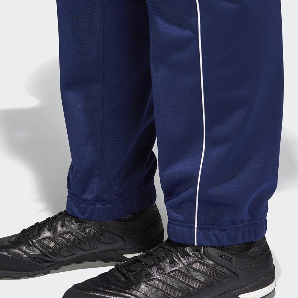 adidas core 18 polyester granatowe
