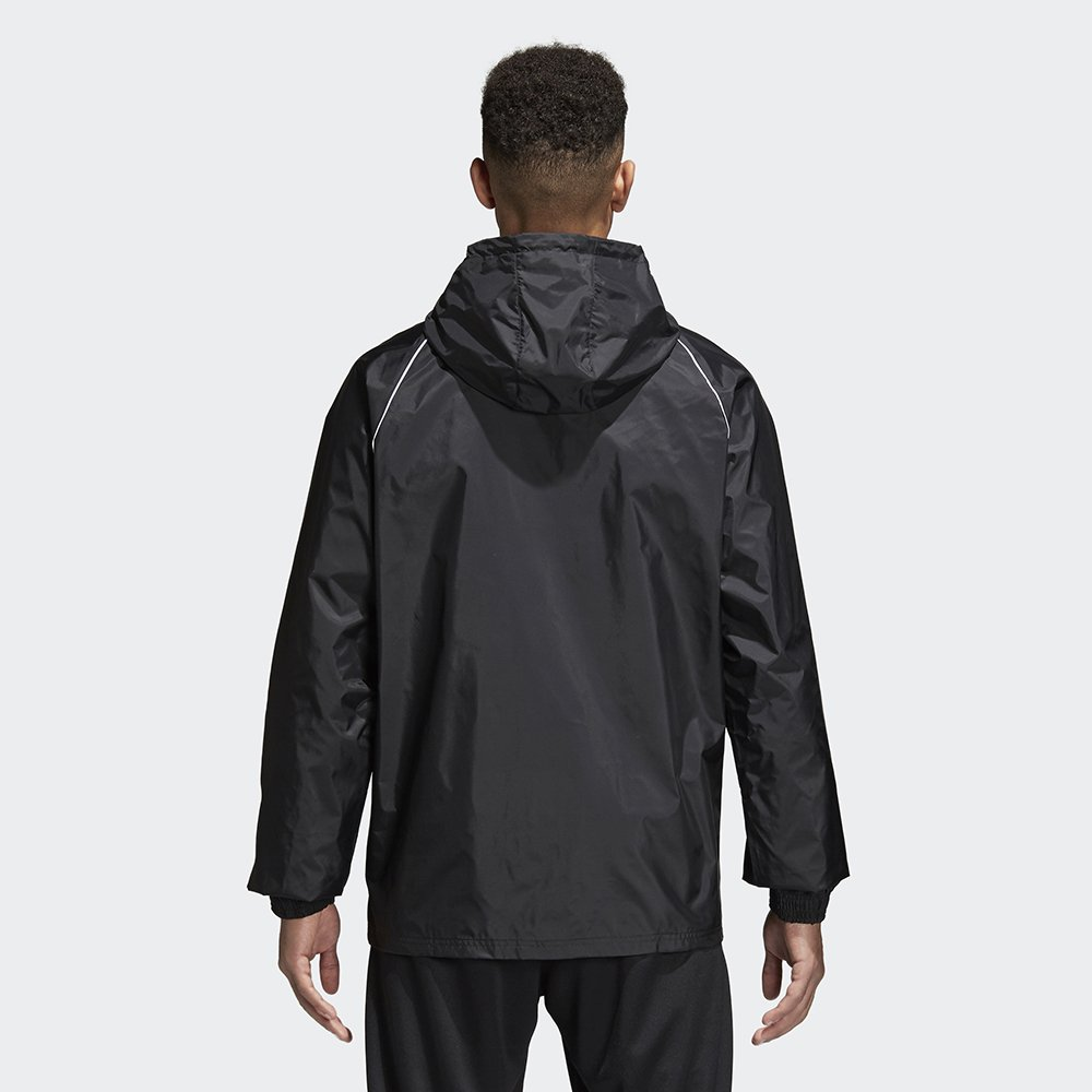 adidas Core 18 Rain Jacket Black
