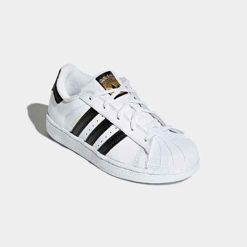 adidas superstar c biało-czarne