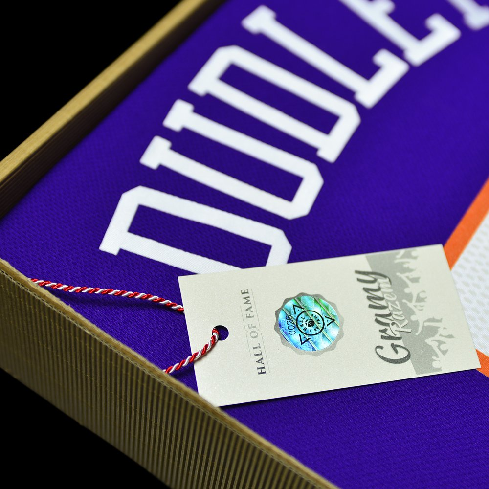 koszulka adidas swingman phoenix suns z autografem jareda dudleya (b0026)