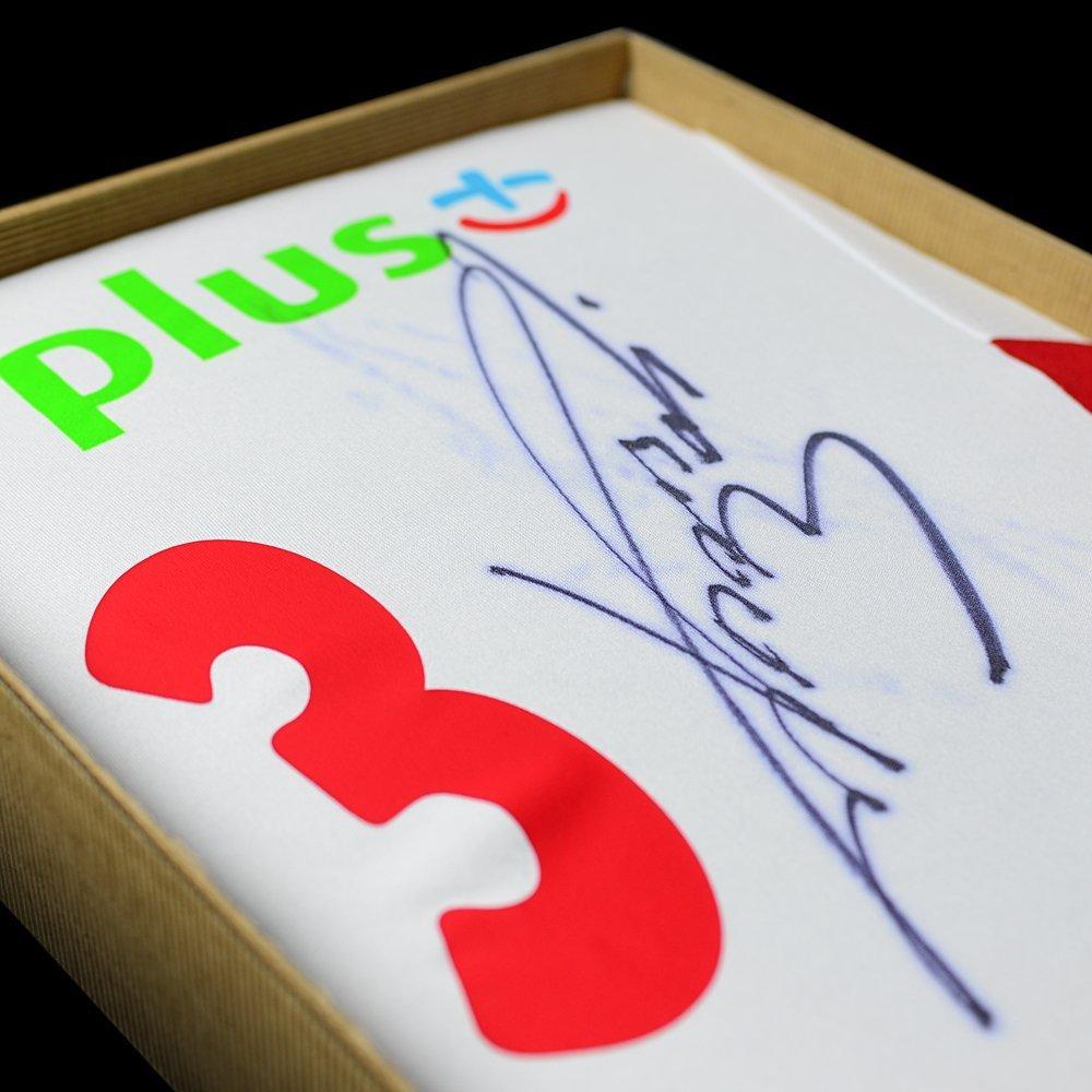 koszulka adidas reprezentacji polski z autografem dawida konarskiego