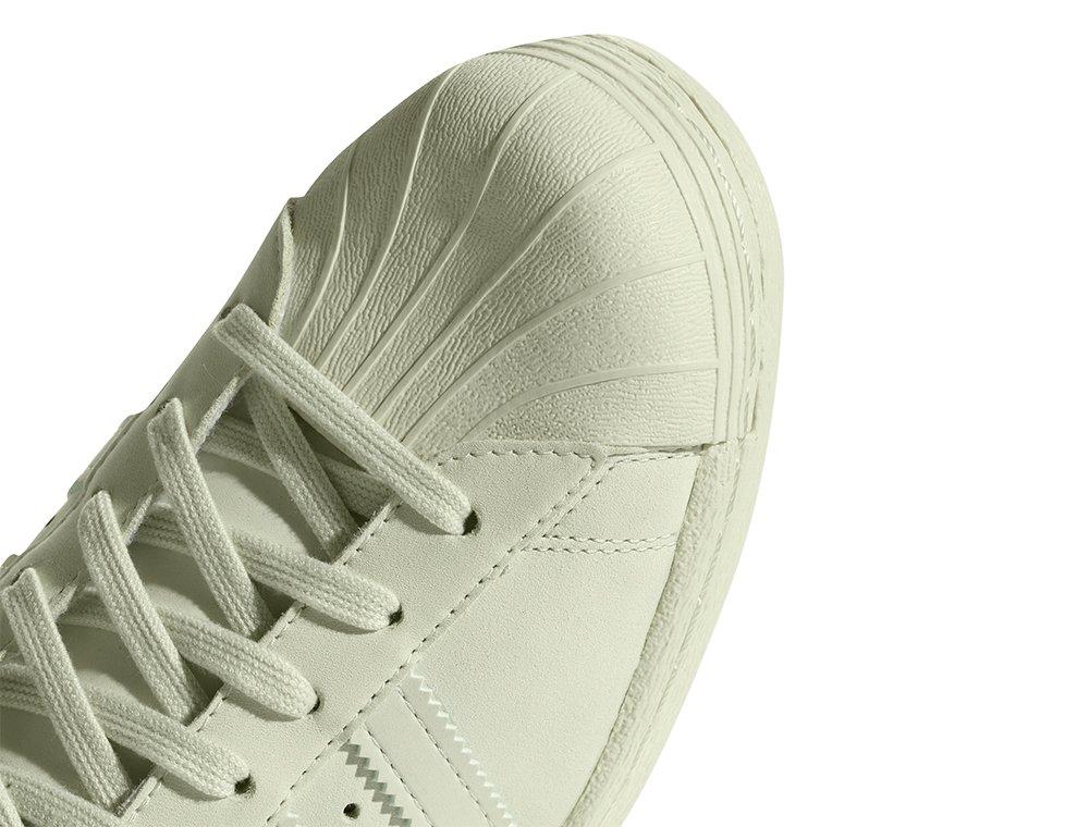 adidas superstar 80s damskie jasno zielone (cq2658)