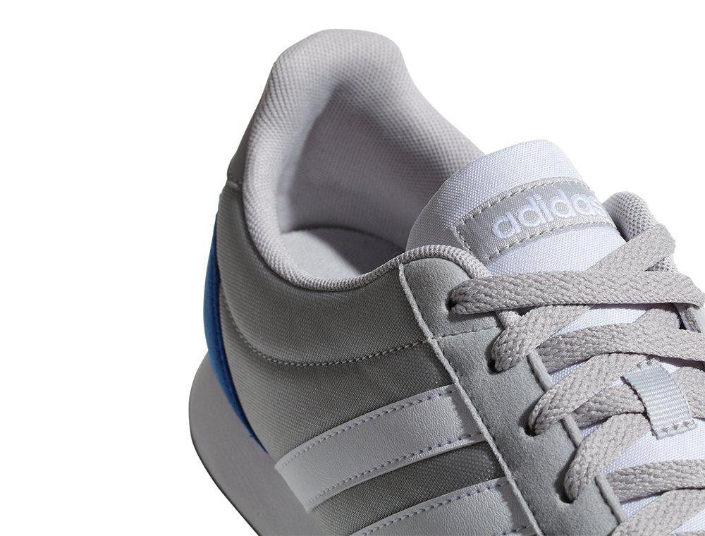adidas v racer 2.0 szaro-białe