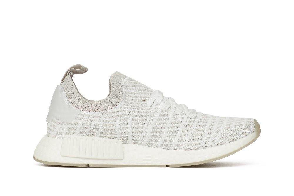 adidas nmd r1 stlt primeknit white