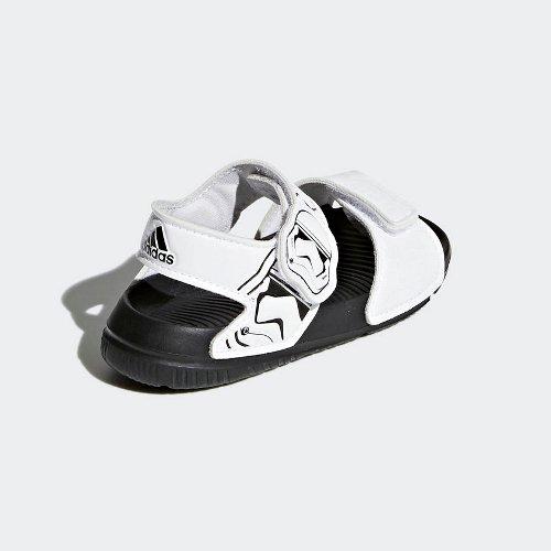 adidas star wars altaswim biało-czarne