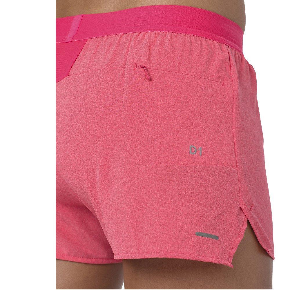 asics 3.5in woven shorts w różowe