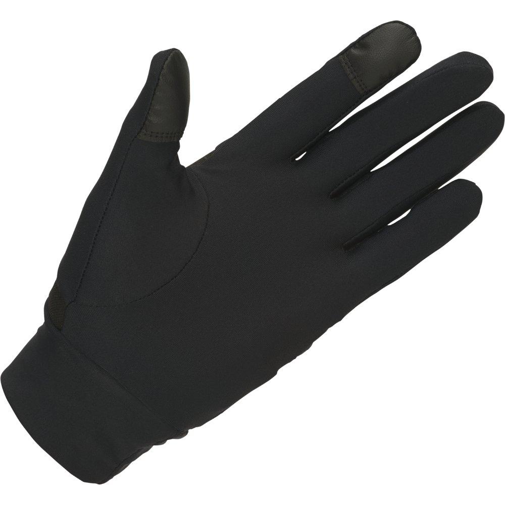 asics thermal gloves performance black